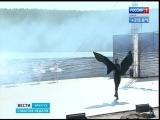 На берегу Ангары поставили балет Лебединое озеро