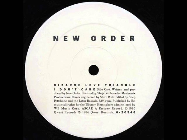 New Order - Bizarre Love Triangle (Extended Dance Mix) = 1986