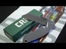Складной нож CRKT RASP. Металлический крокодил.