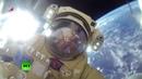 GoPro Cosmonautas rusos salen de la EEI al espacio abierto