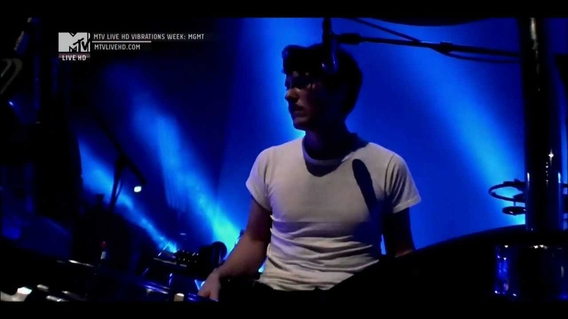 MGMT - MTV Live Vibrations HD - I found a whistle