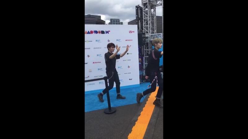 [VK] 180624 Golden Child @ KCON 2018 NY Star Carpet