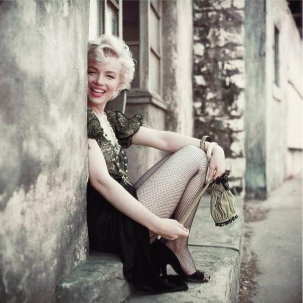 Фотосессия с Мэрилин Монро, 1956 год. Фотограф: Milton H. Greene.