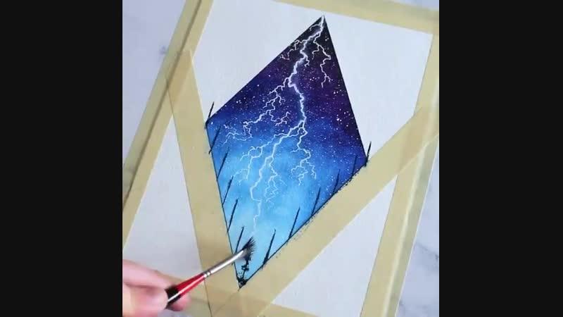 Космические рисунки