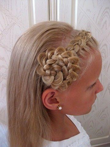 Прически для маленьких девочек.Идеи для вдохновения!