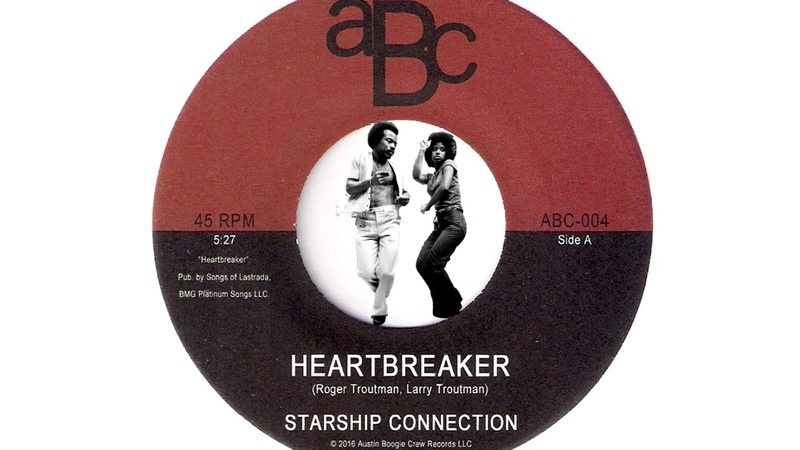 Starship Connection - Heartbreaker [Austin Boogie Crew] 2016 G-Funk 45