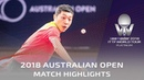 Xu Xin vs Liu Dingshuo   2018 Australian Open Highlights (Final)