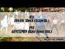 [MASHUP] f(x)_Electric Shock (Acapella.) + PSY_GENTLEMEN (Base Boost Inst.)
