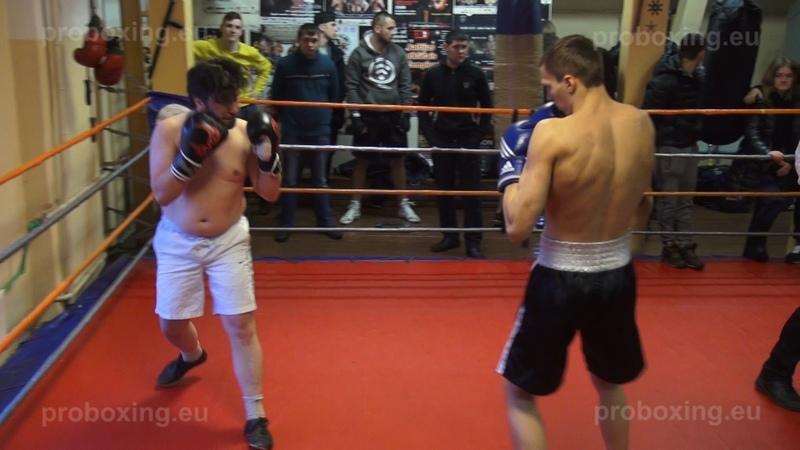08.02.2015 Aleksandrs Skreivers (LAT) VS Dmitrijs Avsejenkovs (LAT) proboxing.eu