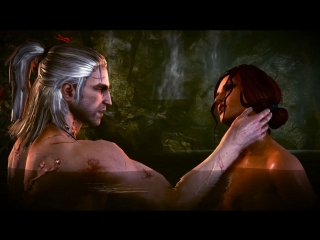 Triss Extended Scene (The Witcher sex)