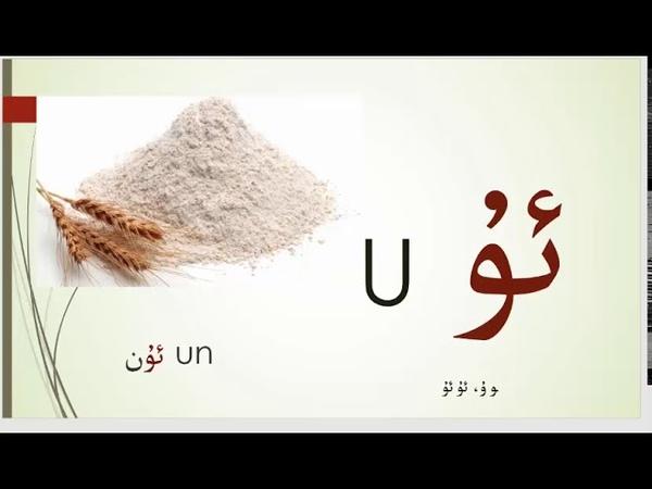 ئۇيغۇر ئېلىپبەسى Uighur Alphabet