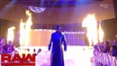 WWE The Undertaker Entrance 1-9-17 HD