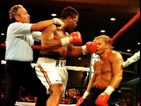 Ray Mercer Brutal KO Tommy Morrison This Day October 18 1991