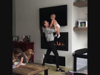 Как тренироваться с детьми