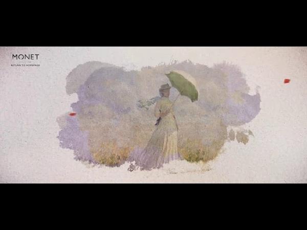 Ожившие картины Клода Моне