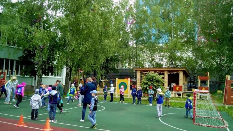 Футбол в МБДОУ № 439 г Нижний Новгород 14 июня 2018