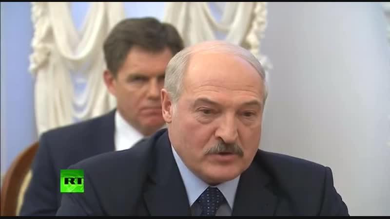 Путин и Батька ссорятся из-за газа. ПростоЯзыком