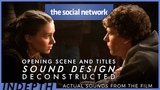 Trent Reznor vs. Elvis Costello Sound design &amp music in The Social Network