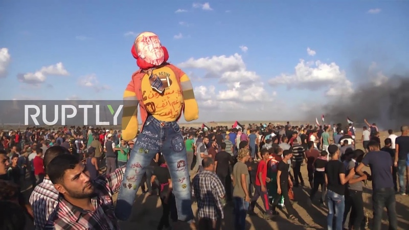 State of Palestine One killed hundreds injured as March of Return continues