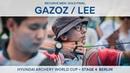 Mete Gazoz v Lee Woo Seok – recurve men's gold Berlin 2018 Hyundai Archery World Cup S4