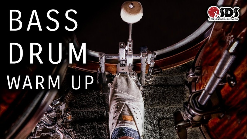 5 Minute Bass Drum Warm Up | DRUM LESSON