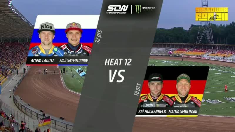 09.06.2018 Speedway Of Nations 2018 Final Day 2 Wrocław (POL)