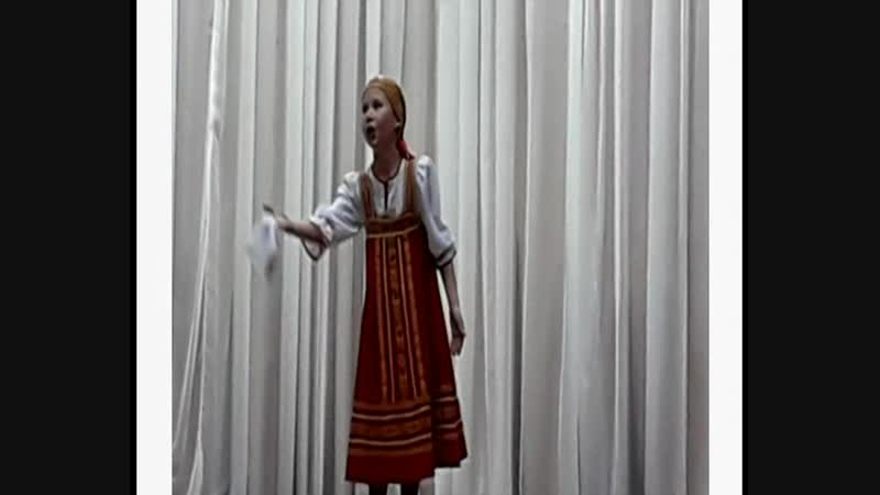 Ковригина Александра - Р.н.п. «Осень»
