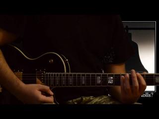 Metallica - For whom the bell tolls (1) (Китайская реплика Gibson LP Studio)