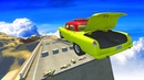 BeamNG Drive - Satisfying High Speed Open Bridge Jumps 16
