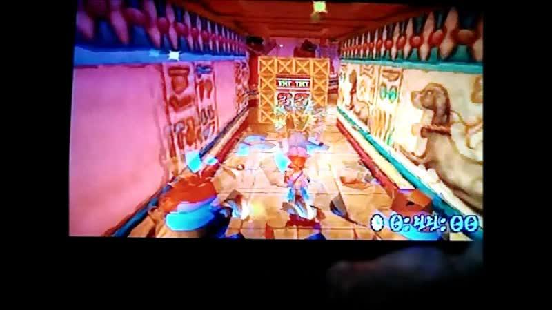 Crash Bandicoot 3:Warped(PAL-version). Time Trial.Sphyinxinator. 47:00.РВ