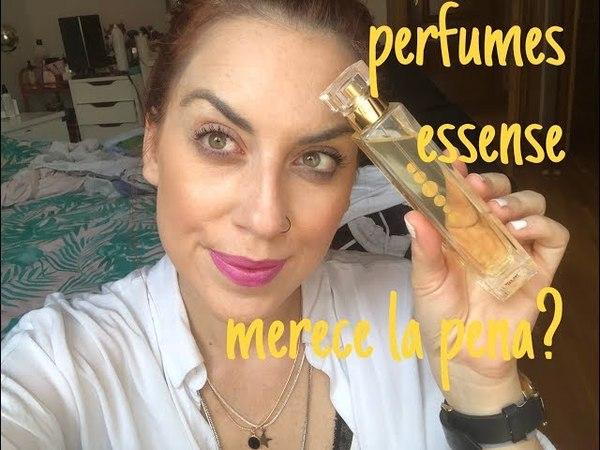 Probando perfumes essens