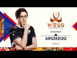 ArsZeeqq о подготовке к мейджору, самых сильных противниках на WESG 2018 и об инциденте в Макао   WESG 2018