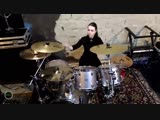 Юля Галактионова - Avril Lavigne - Complicated (Drum Cover)