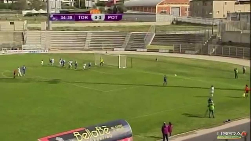 Torres Calcio 0 Turbine Potsdam 8 - Champions League 1st Leg Quarter finals (23rd March 2014)