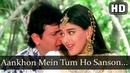 Aankhon Mein Tum Ho | Aag (1994) Govinda | Sonali Bendre | Kumar Sanu | Bollywood Songs | Filmigaane