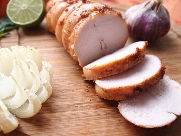 КУРИНАЯ ПАСТРОМА Ингредиенты: - 1 шт. грудка куриная (без