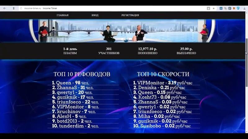 Income Timer - income-timer.ru