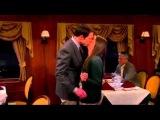 Теория большого взрыва 7 сезон 15 серия Шелдон целует Эми