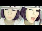 Minzy 민지 2NE1 make-up transformation by Anastasiya Shpagina