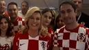 Президент Хорватии поблагодарила Россию нарусском языке