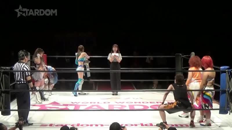 Mayu Iwatani, Tam Nakano Xia Brookside vs. JAN (Natsuko Tora, Kaori Yoneyama Leo Onozaki)