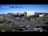 Авария Витебск перекресток Московский пр-т - ул.Терешковой