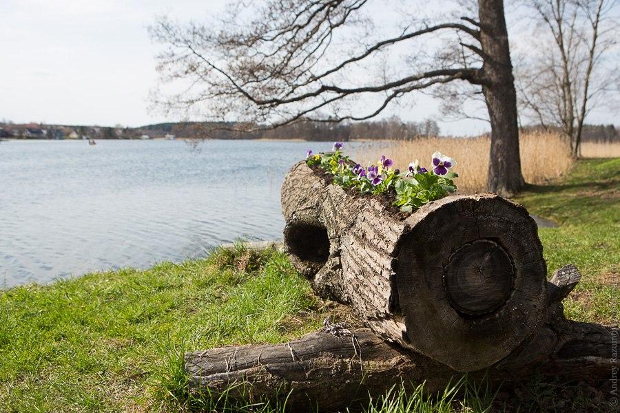 Тракай замок крепость Литва озеро