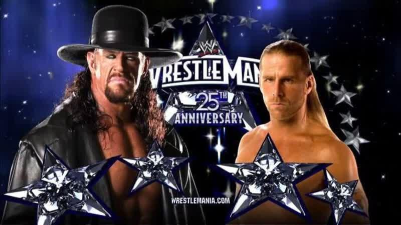 WWE Mania WrestleMania XXV The Undertaker vs Shawn Michaels