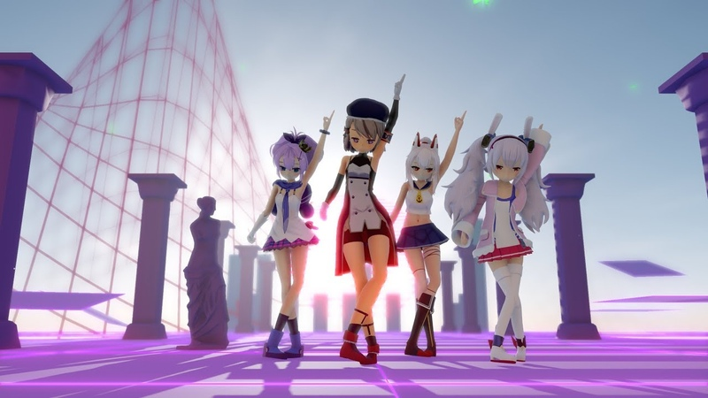 Azur Lane MMD Dancin Starter Squad