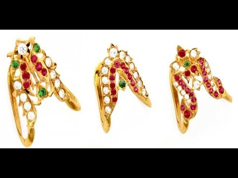 22 Carat Gold Indian Traditional Wedding {Vanki} Rings Collection