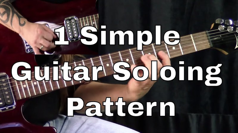 1 Simple Guitar Soloing Pattern - You Can Use To Impress!   Steve Stine   Guitar Zoom
