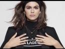 Кайя Гербер новое лицо кампании Karl Lagerfeld