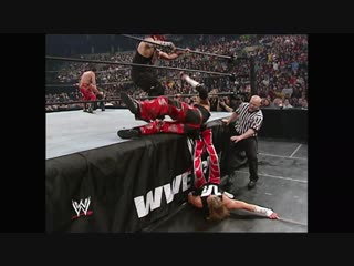 The Hardy Boyz collide in the Royal Rumble Match Royal Rumble 2003