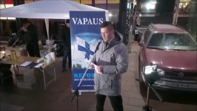 Ilja Janitskin ilmoittaa asettuvansa ehdokkaaksi - H:ki, 24.11.2018